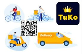 DELIVERY / COURIERS DRIVERS WANTED URGENTLY IN EDINBURGH !! 🚗 🚴 🛵🚚 TOP RATES PAID ..