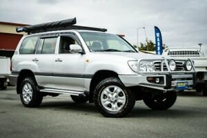 2006 Toyota Landcruiser HDJ100R GXL Silver 5 Speed Automatic Wagon Coopers Plains Brisbane South West Preview