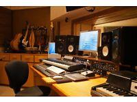 Studio Sessions Audio/Visuals Recording, Editing, Mixing & Mastering
