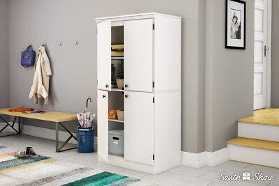 morgan collection 4 door storage cabinet in