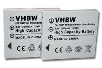 2x Batteria Per Fuji Np-40 Np-40n Np40 Np40n -  - ebay.it