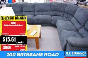 Maddy Modular Lounge with Recliners - Warranty Booval Ipswich City Preview