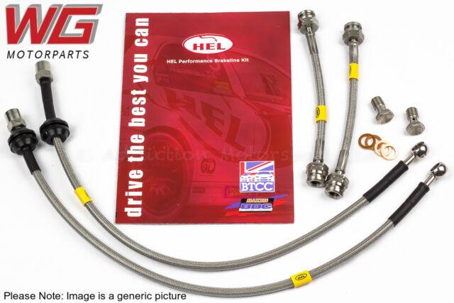 HEL Braided Brake Line Hose Kit for Volkswagen Golf MK6 2.0 R (2009-2012)