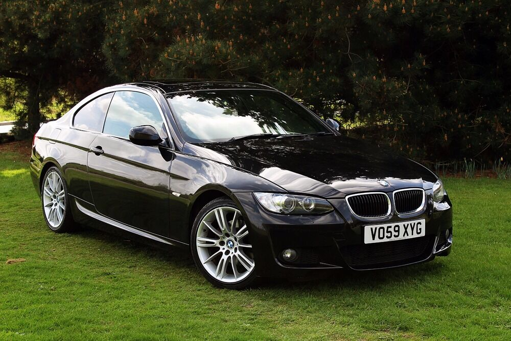 2009 bmw 320d m sport coupe low miles full history pristine example e92 318d 330 in. Black Bedroom Furniture Sets. Home Design Ideas