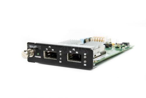 EM316-2XFP, MRV 10G Transponder with dual XFP pluggable optics interfaces