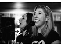 Female backing singer needed to complete 3 part harmonie.