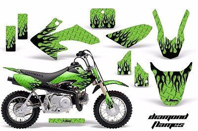 Dirt Bike Decal Graphic Kit MX Sticker Wrap For Honda CRF50 2014-2018 DFLM K G