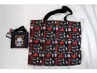 Star Wars tote bag - First Order Stormtrooper - officially-licensed by SEGA from Japan