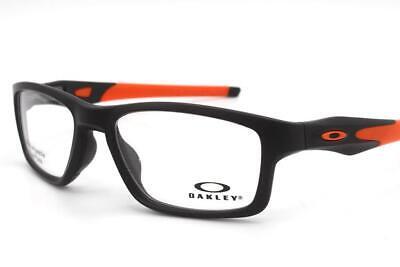 Oakley Crosslink Eyeglasses Satin Black OX8090-0153 Authentic 53mm