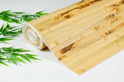 * 4ft x 8ft Bamboo Wainscoting Paneling Tortoise Grt 4 Tiki Thatch Bar