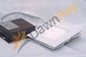 DawnRay 4 Square White Slim LED Panel