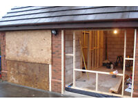 Garage Conversions, we specialise in converting garages into habitable rooms