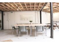 Desk Space in a Stunning, Bright Converted Warehouse right next to Hommerton Station