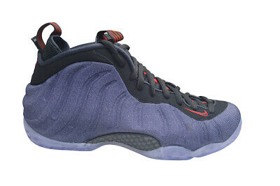Mens Nike Air Foamposite One - 314996404 - Obsidian Black Red