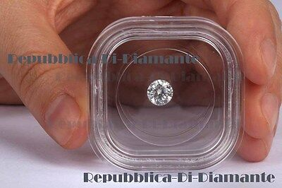 GEM EDH Certified 6.5mm 1.04 ct EHM Cultured Diamond HPHT Treated F/VS1