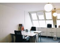 Creative desk space available in Brixton Studio