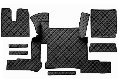 LKW Kunstleder Fußmatten für MAN TGX zwei Schubladen ab 2018- automatikschaltung Fußmatten Für Lkw