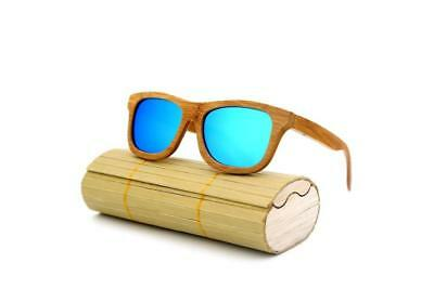 BEST SELLER Designer Bamboo Sunglasses (UNISEX)