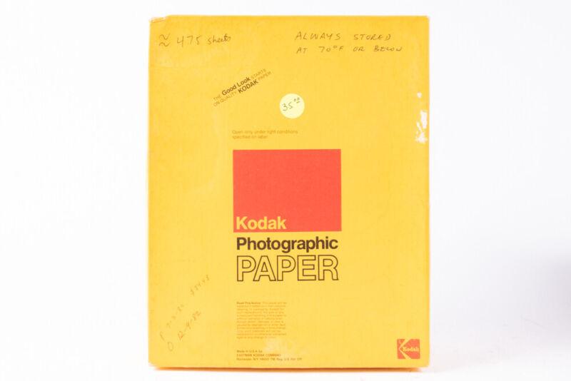 "Kodak Ektamatic SC F 8X10"" Photographic Paper 500 Sheets OPEN BOX E17"