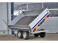 3 sides tipping trailer - Brand new
