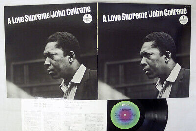 JOHN COLTRANE A LOVE SUPREME ABC/IMPULSE YP-8527-AI JAPAN VINYL LP