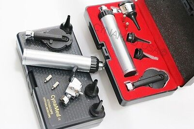 Otoscope Opthalmoscope Set Ent Medical Diagnostic Surgical Instruments-w2 Bulb