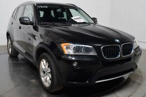2013 BMW X3 XDRIVE CUIR TOIT PANO NAV XENON