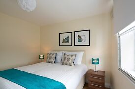 **Plush serviced 2 bedroom Kensington - All bills, wifi, maid service all included - Book now!
