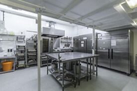 Commercial Kitchen available for hire in Hackney