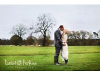 Wedding photography from £450