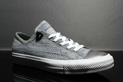 9ecb3913d20 Converse Chuck Taylor All Star X Nike Flyknit Ox Low 157594C Light Carbon  White