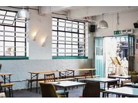 CDP / Sous Chef at The NINES Peckham. A cafe, bar & event space with a top notch brunch & bar food.