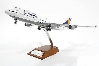 Herpa 557429 Lufthansa Boeing 747-400 Bremen D-ABVP Diecast 1/200 Jet Model