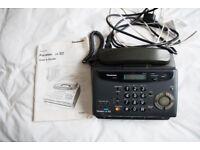 PANAFAX S2 PHONE, ANSWERING MACHINE AND FAX MACHINE