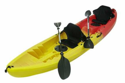 double tandem family kayak. full package brand new $499  RRP $999
