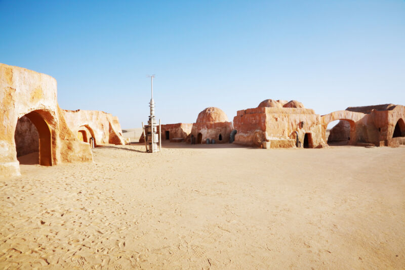 Parts of Tunisia double for a galaxy far, far away in the Star Wars films