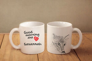 Savannah - ceramic cup, mug &quot;Good morning and love &quot;, CA - <span itemprop='availableAtOrFrom'>Zary, Polska</span> - Savannah - ceramic cup, mug &quot;Good morning and love &quot;, CA - Zary, Polska