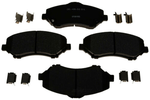 Disc Brake Pad Set-Ceramic Front ACDelco Pro Brakes 17D1273ACH