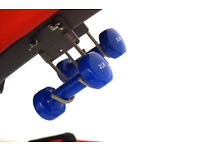 FXR Sports Foldable Sit Up Bench With Boxing Ball