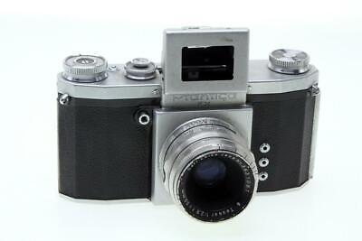 Praktica FX 35mm Film Camera With Zeiss Tessar 50mm F2.8 Lens - $30.99