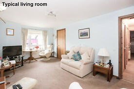 Rarely available 1-bed , first floor sheltered flat for the over 60s - available now.