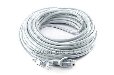 10 Meter CAT5e RJ45 Ethernet Network LAN Cable Lead 10M