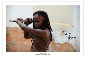 DANAI-GURIRA-THE-WALKING-DEAD-AUTOGRAPH-SIGNED-PHOTO-PRINT-SEASON-3-4