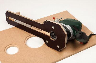 Fräszirkel  Oberfräse - Kreisschneider Frässchablone Bosch POF 1400 od Universal