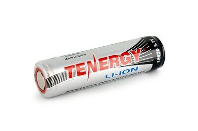 Tenergy Li-Ion 18650 Cylindrical 3.7V 2600mAh Flat Top Rechargeable Battery PCB
