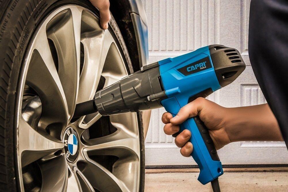 "Capri Tools Impact Wrench 260 ft-lbs 1/2"" Drive 8.5 Amps"