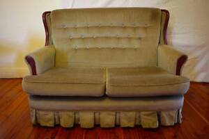 Vintage Victorian 2 Seat Sofa Marrickville Marrickville Area Preview