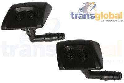 LH & RH Headlamp Light Washer Jets for Land Rover Discovery 3 Bearmach