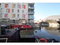 1 bed modern apartment, canal views, furnished, vacant, call Andy 07825214488