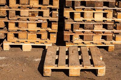 Europaletten sind grandioses Handwerks- und Bastelmaterial. (© Thinkstock via The Digitale)